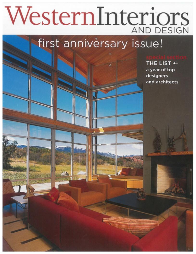 Western design magazine 1